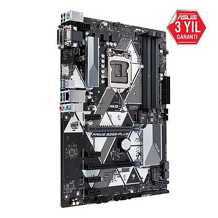 ASUS PRIME B365-PLUS DDR4 2666MHz D-Sub DVI-D HDMI USB3.1 mATX 1151p