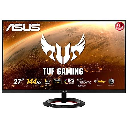 ASUS VG279Q1R 27 1920x1080 144Hz 1ms HDMI DP IPS Monitör