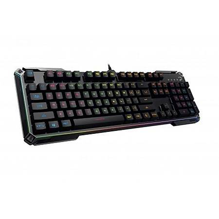 GamePower Mirana RGB Kýrmýzý Switch Siyah Mekanik Klavye