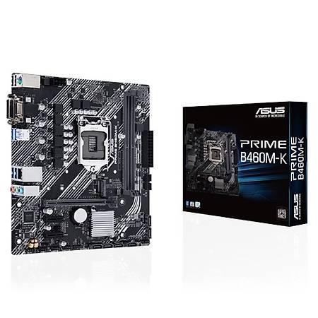 ASUS PRIME B460M-K DDR4 2933MHz VGA DVI M.2 mATX 1200p
