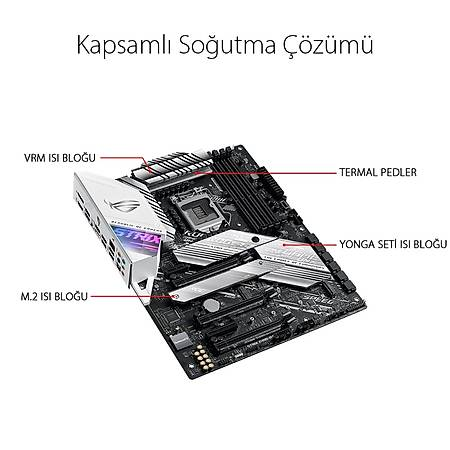 ASUS PRIME Z490-A DDR4 4600MHz (OC) HDMI DP RGB ATX 1200p