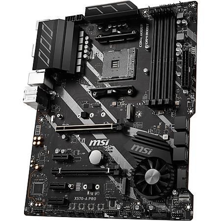 MSI X570-A PRO DDR4 HDMI M.2 ATX AM4