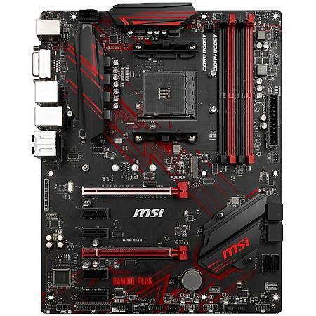 MSI B450 GAMING PLUS MAX DDR4 4133MHz (OC) DVI HDMI GLAN SATA 6GB/S USB3.2 ATX AM4