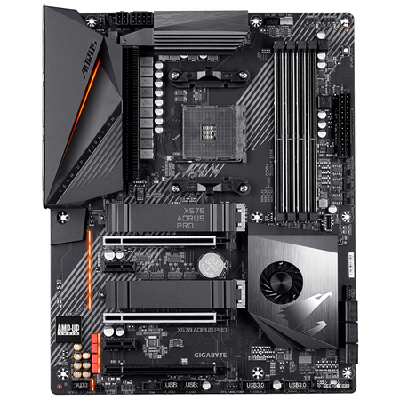 GIGABYTE X570 AORUS PRO DDR4 5100MHz (OC) HDMI TYPE-C M.2 USB 3.2 ATX AM4