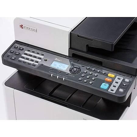 Kyocera M5521cdn Fotokopi Tarayýcý Fax Lazer Yazýcý