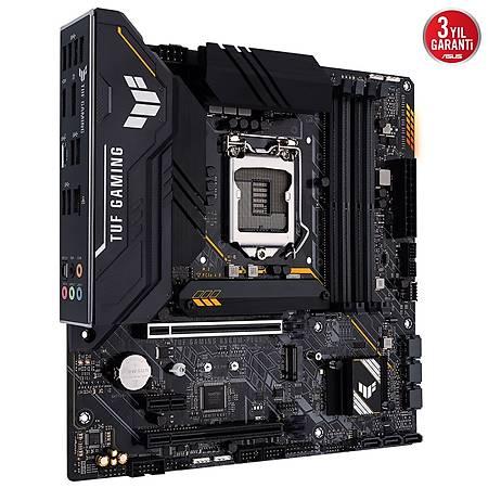 ASUS TUF GAMING B560M-PLUS DDR4 5000MHZ (OC) HDMI DP TYPE-C M.2 USB3.2 AURA RGB mATX 1200p