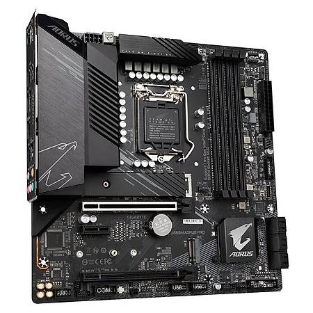 GIGABYTE B560M AORUS PRO DDR4 5333MHz (OC) HDMI DP M.2 USB3.2 Micro ATX 1200p