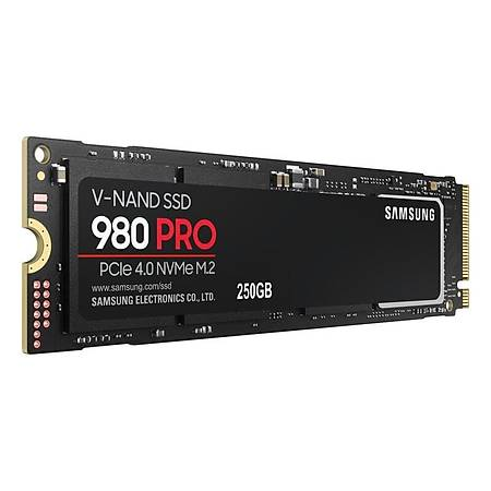 Samsung 980 Pro 250GB PCle 4.0 NVMe M.2 SSD Disk MZ-V8P250BW