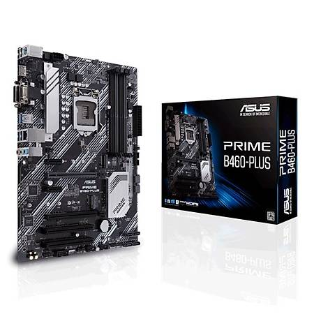 ASUS PRIME B460-PLUS DDR4 2933MHz VGA DVI HDMI M.2 RGB ATX 1200p
