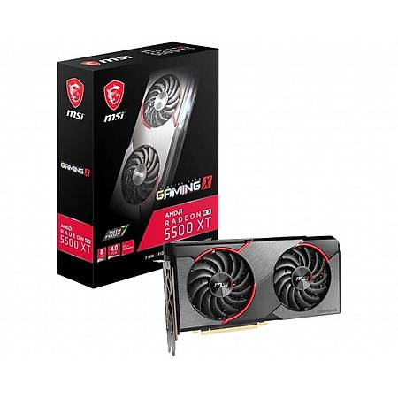 MSI Radeon RX 5500 XT GAMING X 8GB 128Bit GDDR6