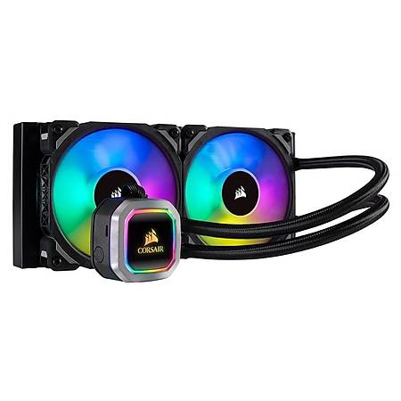 Corsair H100i RGB Platinum 240mm Intel ve AMD Uyumlu Sývý Soðutma Sistemi