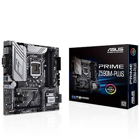 ASUS PRIME Z590M-PLUS DDR4 5000MHz HDMI M.2 USB3.2 Micro-ATX 1200p