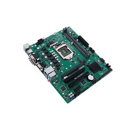 ASUS PRO H410M-C/CSM DDR4 2933MHz VGA DVI HDMI M2 mATX 1200p