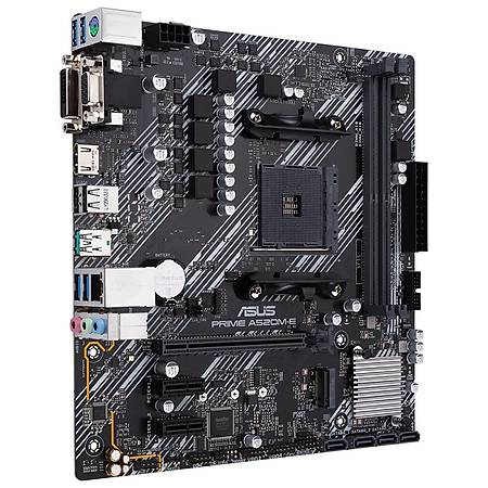 ASUS PRIME A520M-E DDR4 4400MHz HDMI DVI VGA M.2 USB 3.2 mATX AM4