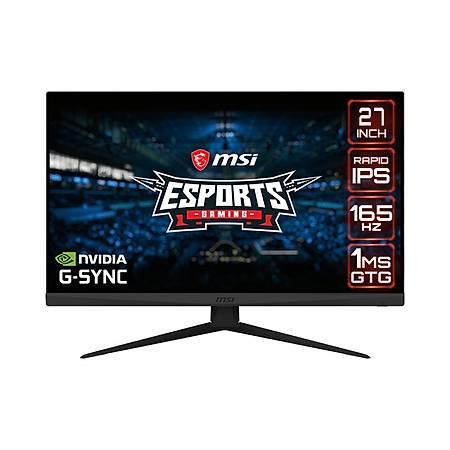 MSI Optix G273QF 27 2560x1440 WQHD 165Hz HDMI DP 1ms G-Sync Flat IPS Gaming Monitör