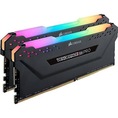 Corsair Vengeance RGB Pro 16GB (2x8GB) DDR4 3600MHz CL18 Amd Ryzen Siyah Dual Kit Ram