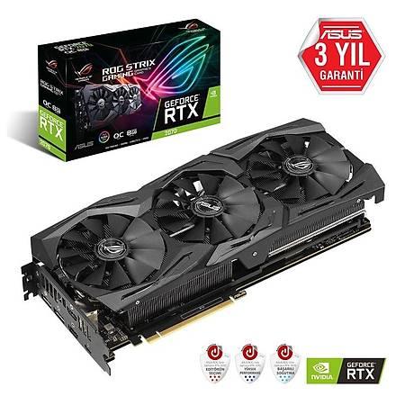 ASUS ROG Strix GeForce RTX 2070 O8G 256Bit GDDR6 VR Ready