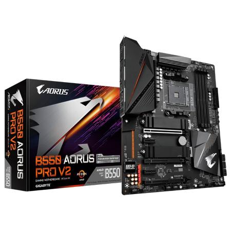 GIGABYTE B550 AORUS PRO V2 DDR4 5100MHz (OC) HDMI TYPE-C M.2 USB 3.2 ATX AM4
