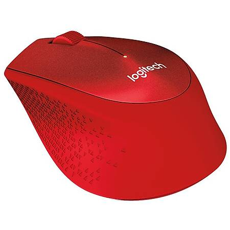 Logitech M330 Silent Kablosuz Mouse Kýrmýzý 910-004911