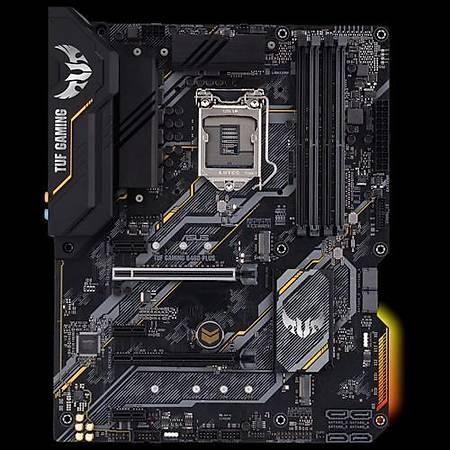 ASUS TUF GAMING B460 PLUS DDR4 2933MHz HDMI DP M.2 RGB ATX 1200p