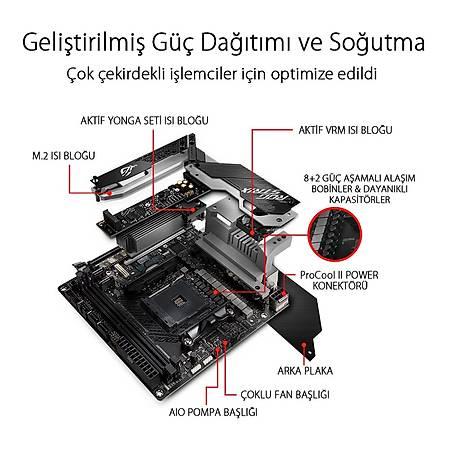 ASUS ROG STRIX X570-I GAMING X570 DDR4 4800MHz (OC) HDMI DP M.2 Mini-ITX AM4