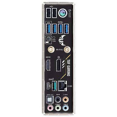 ASUS TUF GAMING B550M-PLUS DDR4 4400MHz (OC) HDMI DP TYPE-C M.2 USB3.2 AURA RGB Wi-Fi mATX AM4