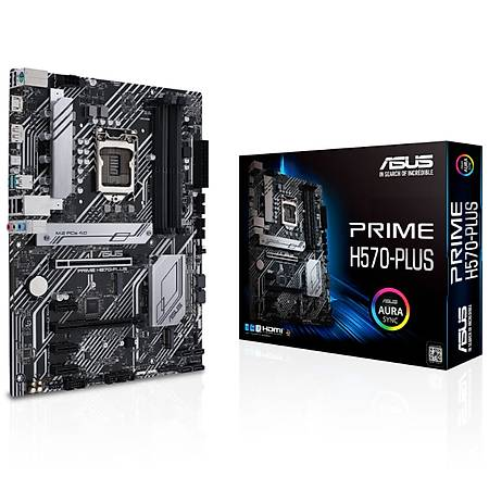 ASUS PRIME H570-PLUS DDR4 4600MHz HDMI DP M.2 USB3.2 ATX 1200p