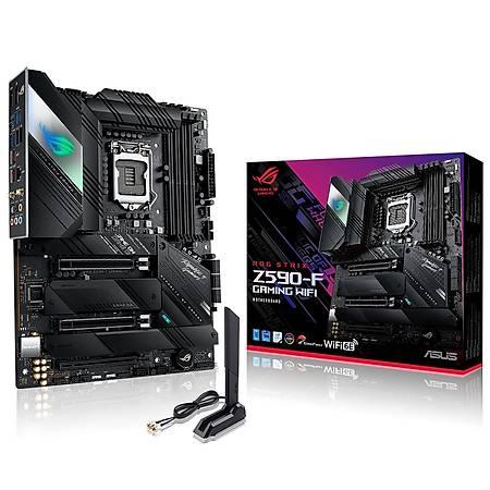 ASUS ROG STRIX Z590-F GAMING DDR4 5333MHz HDMI DP M.2 USB3.2 Wi-Fi ATX 1200p