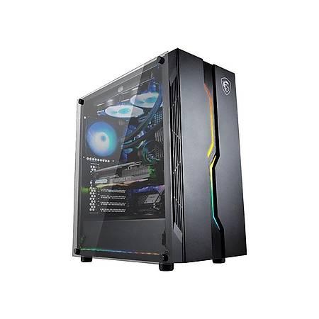 MSI MAG VAMPIRIC 010 Temperli Cam ATX Gaming Bilgisayar Kasasi PSU Yok