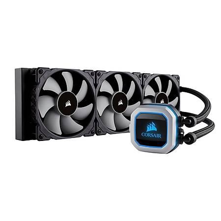 Corsair H150i PRO RGB 360mm Intel ve AMD Uyumlu Sývý Soðutma Sistemi