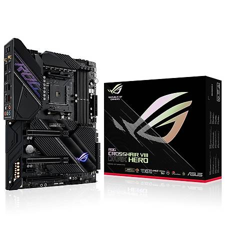 ASUS ROG CROSSHAIR VIII DARK HERO X570 DDR4 5100MHz (OC) TYPE-C M.2 USB3.2 Wi-Fi ATX AM4