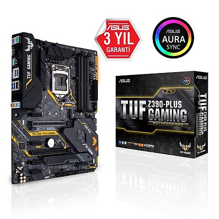 ASUS TUF Z390 PLUS DDR4 4266MHz (OC) HDMI ATX 1151p
