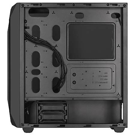 Corsair 470T RGB Temperli Cam Siyah E-ATX MidTower Kasa PSU Yok