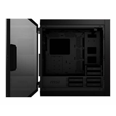 MSI MPG SEKIRA 500G Temperli Cam ATX Gaming Bilgisayar Kasasý PSU Yok