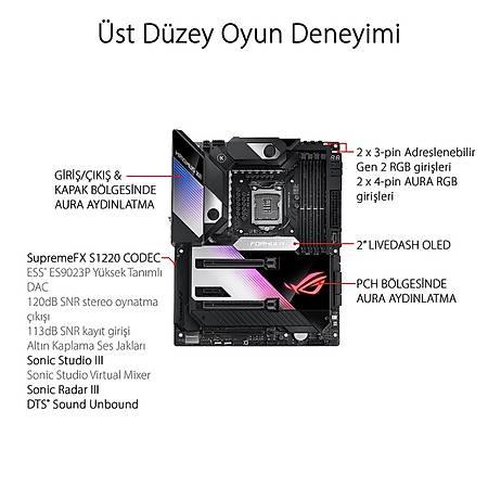 ASUS ROG MAXIMUS XII FORMULA Z490 DDR4 4800MHz (OC) TYPE-C M.2 RGB USB 3.2 ATX Wi-Fi 1200p