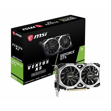 MSI Geforce GTX 1650 VENTUS XS 4GB OC 128Bit GDDR5