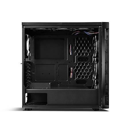 GameBooster GB-PR020BB Tempered Cam Siyah MidTower Kasa PSU Yok