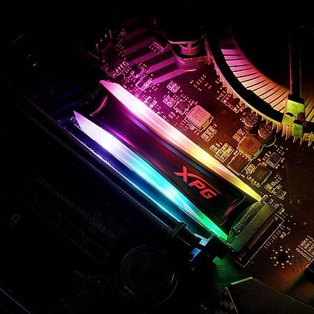 XPG Spectrix AS40G 256GB RGB M.2 SSD Disk AS40G-256GT-C