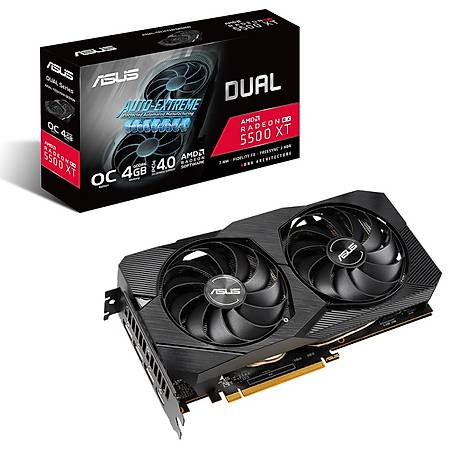 ASUS Dual Radeon RX 5500XT OC EVO 4GB 128Bit GDDR6