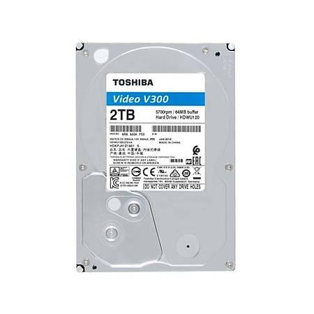 Toshiba V300 3.5 2TB 5700Rpm 64Mb 6.0 Gbit/s HDWU120UZSVA