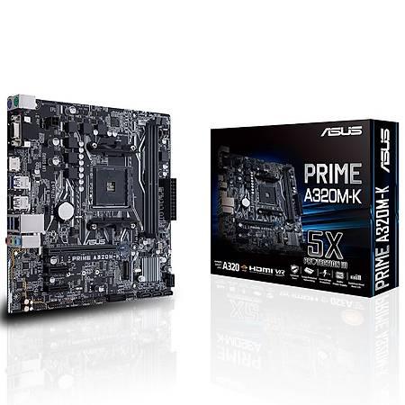 ASUS PRIME A320M-K DDR4 3200MHz (OC) VGA HDMI M.2 USB3.1 mATX AM4
