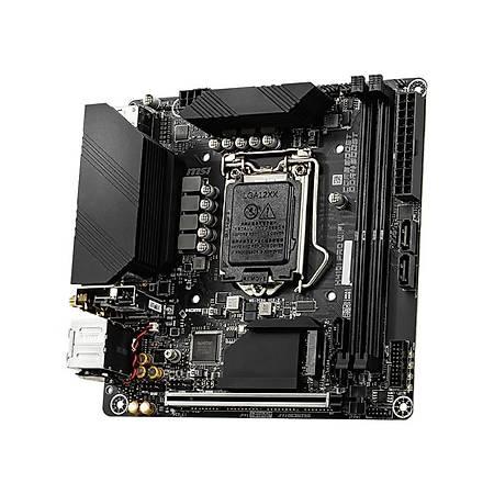 MSI H410I PRO WIFI DDR4 2933MHz HDMI DP M.2 USB3.2 Wi-Fi Mini-ITX 1200p