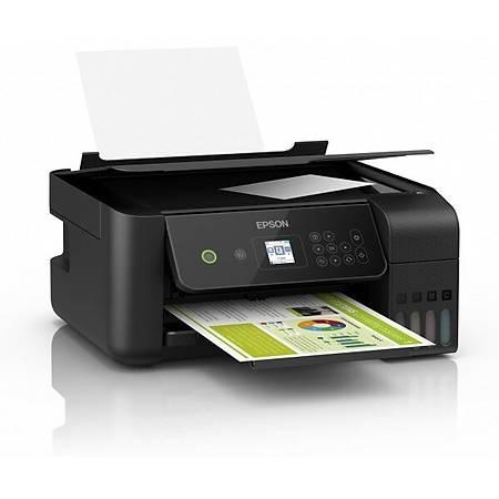 Epson EcoTank L3160 Renkli Fotokopi Tarayýcý Wi-Fi Tanklý Yazýcý