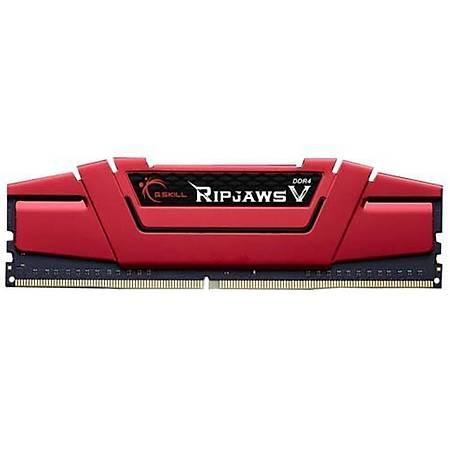 GSKILL Ripjaws V 8GB DDR4 2400MHz CL16 Kýrmýzý Ram