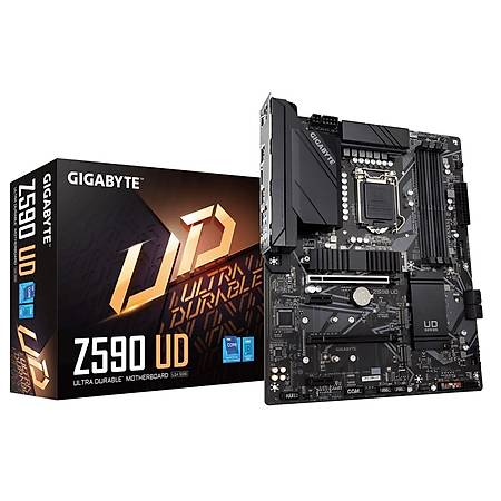 GIGABYTE Z590 UD DDR4 5333MHz (OC) DP M.2 USB3.2 Thunderbolt RGB ATX 1200p