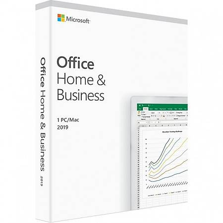 Microsoft Office 2019 Home and Business Tr Kutu T5D-03334