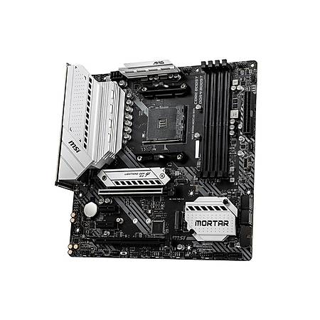 MSI MAG B550M MORTAR DDR4 4400MHz (OC) HDMI DP TYPE-C M.2 mATX Wi-Fi AM4