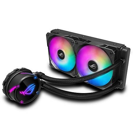 ASUS ROG STRIX LC 240 RGB AURA SYNC 120mm Adreslendirilebilir Ýþlemci Sývý Soðutucu