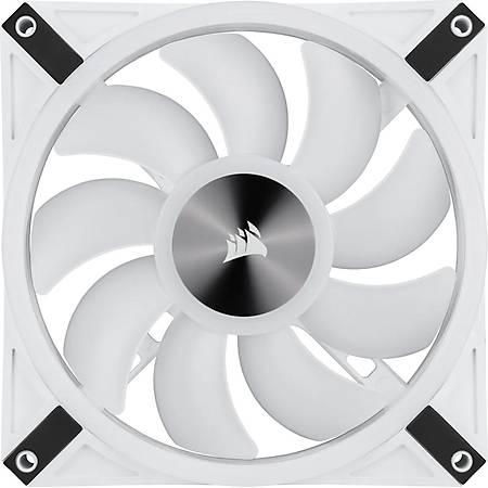 Corsair QL120 RGB 120mm Beyaz PWM Kasa Faný