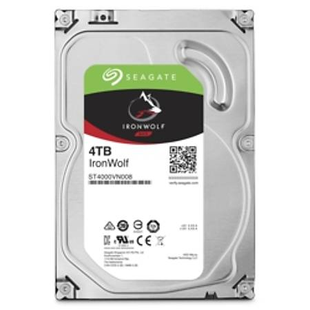 Seagate IronWolf 3.5 4TB 5900Rpm 64Mb ST4000VN008